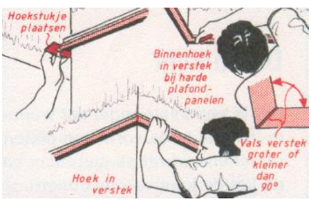 monteren systeemplafonds stap 6