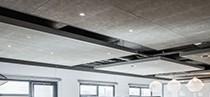 industrieel plafond