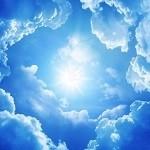 Wolken plafond paneel