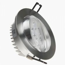 led spot 5x1 W 109 mm aluminium 2700K
