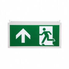 Noodverlichting pictogram A man pijl uit / omhoog