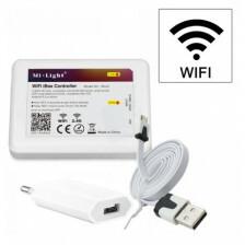 LED WiFi controle box 2.4G voor RGB en CCT met USB aansluitsnoer