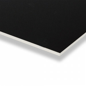 Gipsvinyl plafondplaten 600x600 inleg kleur zwart