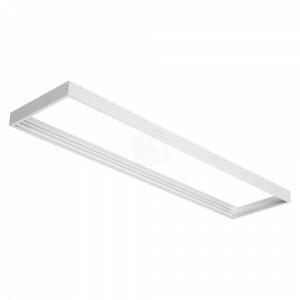 Led paneel 30x120 opbouw frame kleur wit, hoekstukken