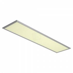 LED paneel Budget, 30x120, 3000 kelvin, alu kleurig frame