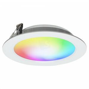 LED downlighter 180 mm, dimbaar RGBW  2.4G WIFI