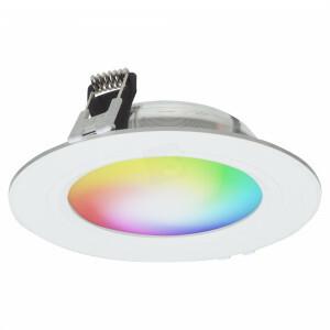 LED downlighter 118 mm, dimbaar RGBW 2.4G WIFI