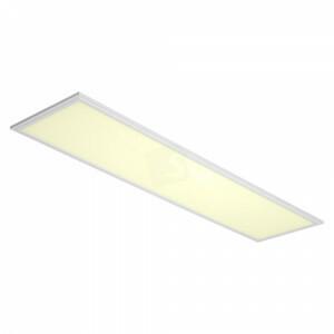 LED paneel 120x30, 3000 kelvin, netsnoer, witte rand