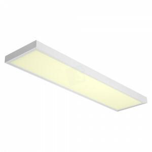 LED opbouw 30x120, 3000 kelvin, 32 watt met wit opbouw frame