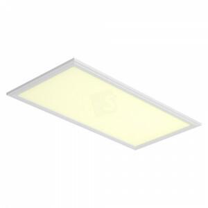 LED paneel 60x120, 3000 kelvin, witte rand, compleet