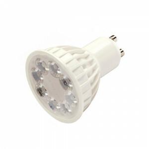 LED spot 4 watt dimbaar RGBW, GU-10, 2.4G RF WIFI