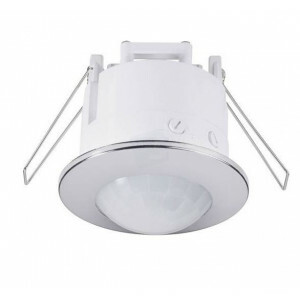LED bewegingssensor inbouw Chroom