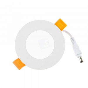 LED downlighter rond 85 mm 6400 Kelvin