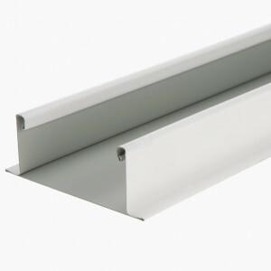 Bandraster profiel breed 100 mm wit niet gesleufd