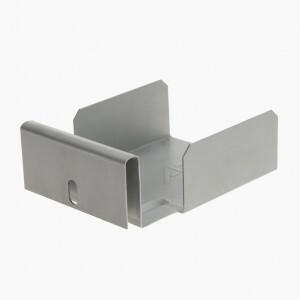 Bandraster 100 mm dwarsverbinder / 25 st.