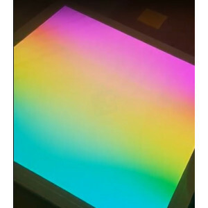 LED paneel 60x60 cm digitaal RGB, 15 watt