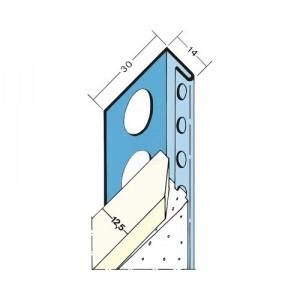 stuc stop profiel 1131 3000 mm gips 12,5 mm
