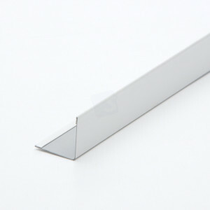 Hoeklijn ABA 3050 mm T15 kleur wit