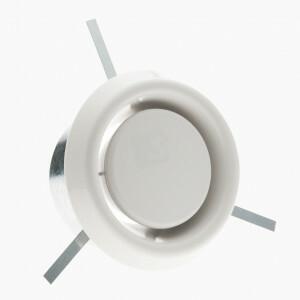 Afzuigrozet voor ventilatie inclusief inbouwring