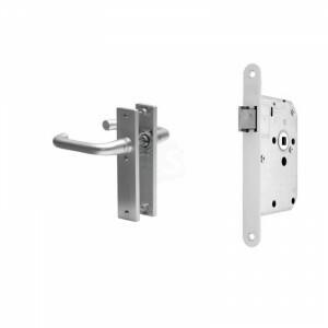 Loopslot nemef 1255 met deurkruk blok
