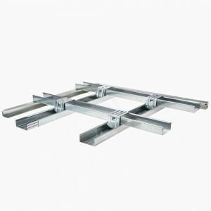Metal stud plafond basis II