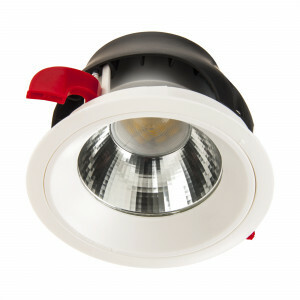 Led downlighter IP44 rond 125 mm 3000K GST18/3