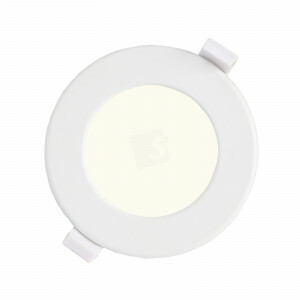 LED downlighter 6 watt, rond 115 mm, 4000K