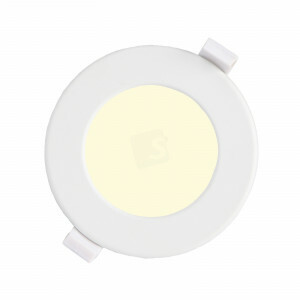 LED downlighter 6 watt, rond 115 mm, 3000K