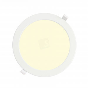 LED downlighter 18 watt, rond 220 mm, 3000K, Wieland