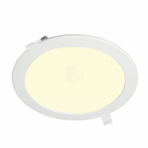 LED downlighter rond 240 mm, 3000K, gatmaat 225 mm