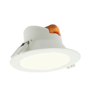 LED downlighter 25 watt, IP44, rond 225 mm, 4000K