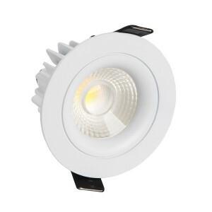 LED inbouwspot VL 80 mm, 2700K, 750lm, 8W, netsnoer