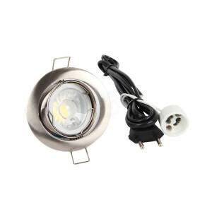 LED spot compleet, 4000K dimbaar 5 Watt, Frame chroom #spec