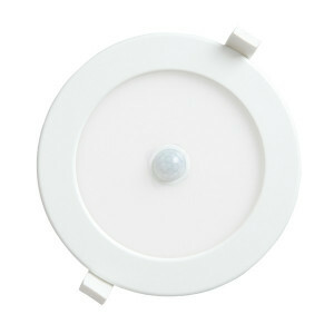 LED downlighter 12 watt, rond 170 mm, 6000K PIR sensor