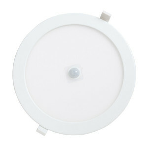 LED downlighter 24 watt, rond 240 mm, 3000K PIR sensor