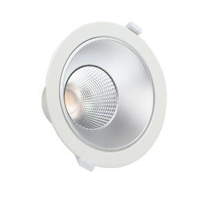 LED downlighter Tri-color CCT, wieland, UGR