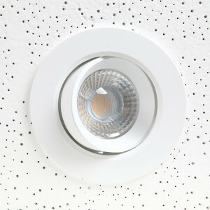 LED spot richtbaar 105 mm, 3000k dimbaar
