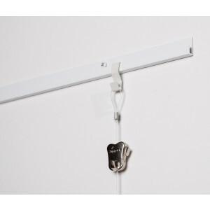 Schilderij rail set professioneel wit voor 2 schilderijen