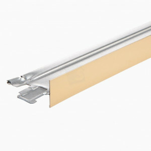 Tussenprofiel CMC 600 mm T15 kleur hoogglans goud