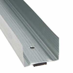 Metal stud profielen U75 4000x75x0.6 met foamband