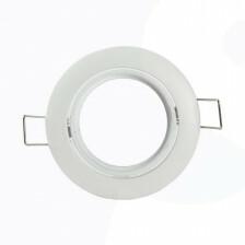 Led spot frame kantelbaar kleur wit