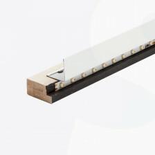 LED strip kantlat zwart