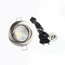 LED spot compleet, 4000K 5 Watt, Frame chroom